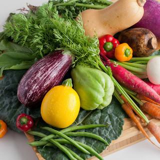 ◆農家から直接仕入れる無農薬有機野菜◆
