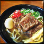 なーざと家 - 料理写真:軟骨ソーキ 中 600円