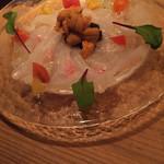 CHIRARI - 本日のカルパッチョ 真鯛