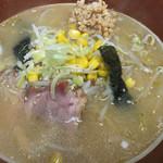 ラーメン網走大将 - 味噌納豆ラーメン