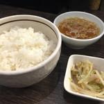 雲林坊 - ご飯セット