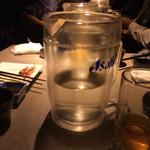 45392716 - サラリーマン20年近くやってて初めて焼酎のお湯割をピッチャーで出された。