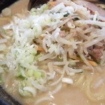 北海道らーめん なまら - 野菜、ねぎ