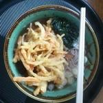 デリシャス通り - 揚げたて天ぷらそば