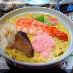 Suehiro - 蒸し寿司