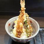 蕎麦屋 此花 - ミニ天丼のアップ