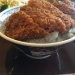 ブラッスリー茶茶 - かつ丼アップ2【料理】