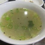 焼肉ちゃんだん - スープ