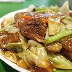 45397090 - 牛肉のあんかけご飯 ¥1,080