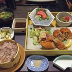 Kagonoya - 黒豚ロールかつ膳