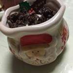 45398114 - サンタさんのカップに惹かれましたଘ(੭ु*ˊ꒳ˋ)੭ु*.°