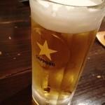 まんまるの月 - 生ビール