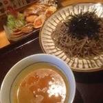 つけ蕎麦安土 - 特製つけ蕎麦(カレー)