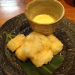 つく田 - 揚げ餅のチーズフォンデュ