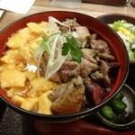佐賀県三瀬村 ふもと赤鶏 - 親子丼 \900(15-12)