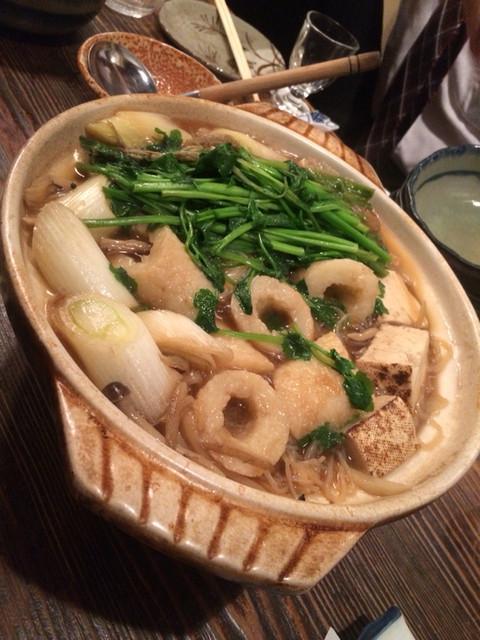 秋田料理 五城目 - きりたんぽ1.5人前で4名で充分でした