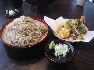 手打百藝 中の森 - 中の森・天ぷら盛り蕎麦