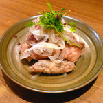 Shin - 鮮魚の南蛮漬け(シマアジ)
