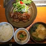 45400076 - 城ヶ崎特製生姜焼き定食900円