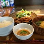 45400078 - 城ヶ崎特製生姜焼き定食900円