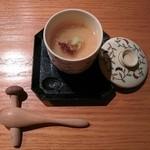 枝魯枝魯ひとしな - 最初に出てきたのが茶碗蒸し 2015/12/10(木)