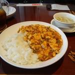 45401711 - 麻婆豆腐かけご飯