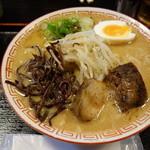 45406316 - 豚骨醤油ラーメン650円