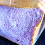45407073 - 紅芋の食パン