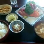 みのり食堂 - 2015/11/05 12:40訪問 刺身定食