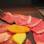 牛兵衛 草庵 - 仙台名物熟成牛タン50g和牛サービスカルビ70gランチ
