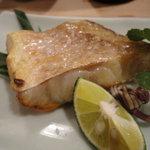 寿司金 - 甘鯛一夜干しの塩焼き