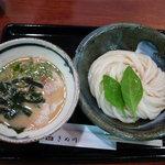 饂飩 きぬ川 - 胡麻つけ麺