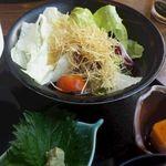 45413885 - 湯葉サラダと小鉢