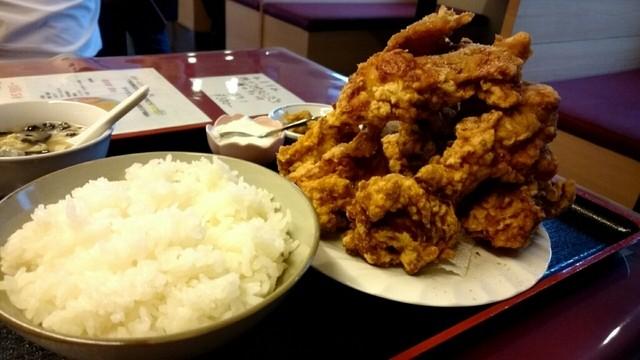 中華料理 順和園 - 唐揚げ定食780円
