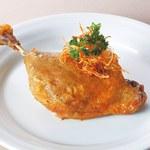 ワイン食堂ウノ - シャラン鴨のコンフィ