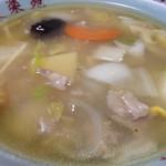 45418717 - 広東麺(うまにそば)。椎茸肉そばの、椎茸無いバージョンです(笑)