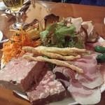 45419060 - 野菜とお肉の盛合わせ(1700円)