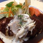 レストラン三國 - ハンバーグ
