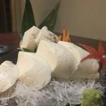 旬まる - もちもち豆腐刺