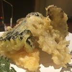 旬まる - 野菜天五種盛