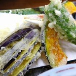 沼田屋 - 野菜とカニの天ぷら