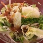 ガネーシャ - セットのサラダ
