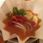 花木鳥 - 豚肉白湯スープ鍋