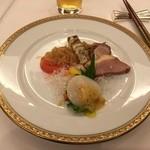 hoteruo-kuraresutorannagoyachuugokuryouritoukarin - 五種冷菜盛り合わせ
