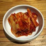 焼肉 とーがらし - 白菜キムチ 380円