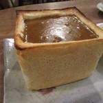 カフェ 呂久呂 - カレージャンボトースト