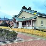 トラピスチヌ修道院 売店 - 売店併設の資料館