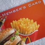 4543337 - member's card