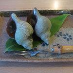 ペンション ヘラさんの家 - 料理写真:つぼ貝