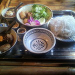 4543981 - 名物混ぜ混ぜ麺(ブンチャーランチ)